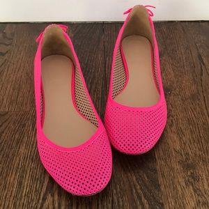 J.Crew Pink Ballet Flats